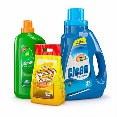 Detergentes Líquidos y en Polvo