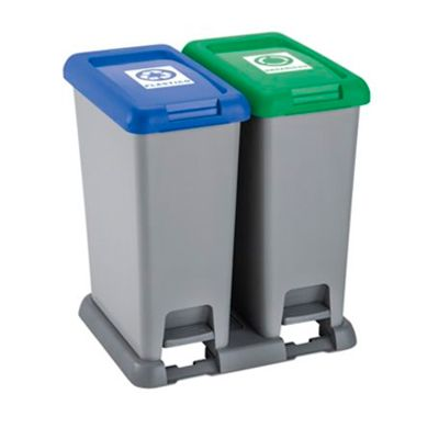 Canecas para separación de residuos