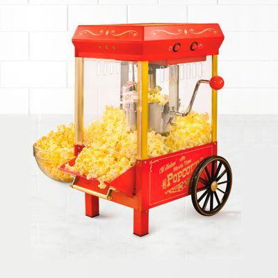 Crispetera y Máquinas de Algodón de Azúcar