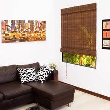 Persianas Enrollables Bambú y Yute