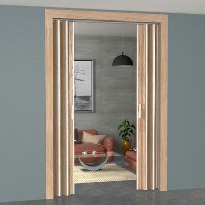 Puertas plegables en madera